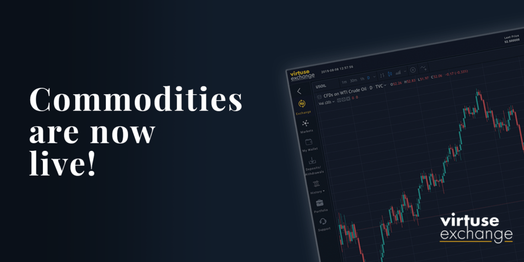 Virtuse Commodity trading is now live!