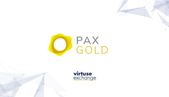 Gold-backed PAX Gold Now Available on Virtuse Exchange