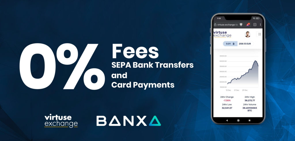 0% Fees for All Virtuse Users