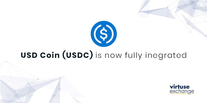 As Coinbase Listed on NASDAQ, Virtuse Announces Support for USD Coin