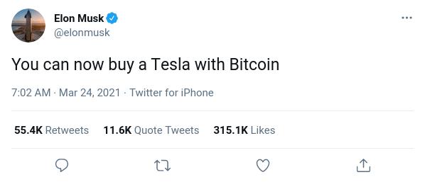 Tesla btc