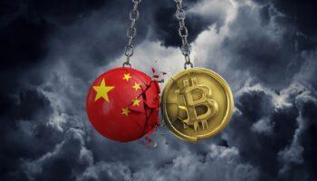 China Says Banks Must Block Crypto Transactions; Market Falls