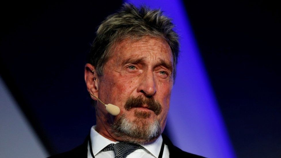 McAfee Found Dead in Spanish Prison as Extradition Loomed; Autopsy Planned