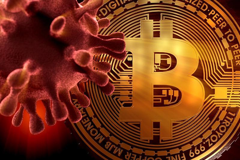 Čo majú spoločné Covid-19 a bitcoin
