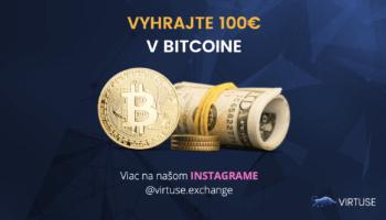 Rýchla súťaž o 100€ v BITCOINE